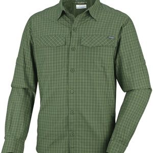 Columbia Men's Silver Ridge Plaid Long Sleeve Top